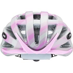 UVEX Air Wing CC Helmet Kids grey/rose matt